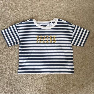 American Eagle Cropped Graphic T-Shirt